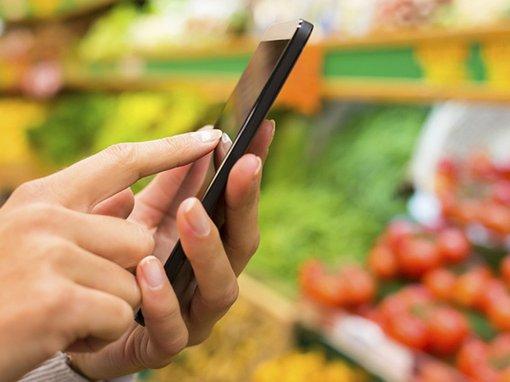Mobile @ Jumbo Supermarkten